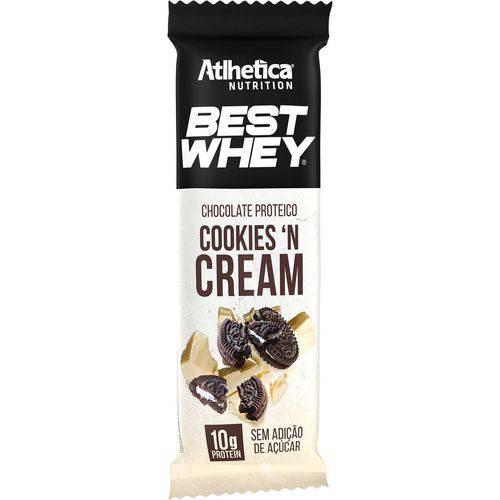 Best Whey Chocolate Proteico 50g - Atlhetica - Crunchy 'N Cream