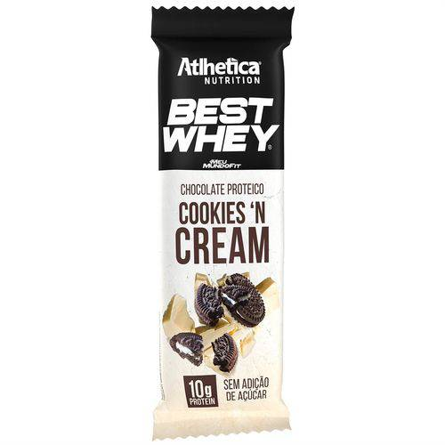 Best Whey Chocolate Proteico Branco Cookies And Cream (50g)