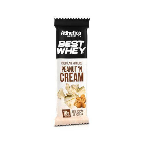 Best Whey Chocolate Proteico Branco Peanut N Cream (50g)