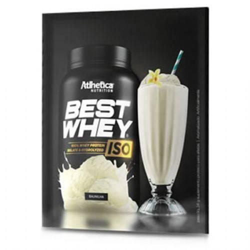Best Whey Iso - 15 Sachês 24g Baunilha - Atlhetica Nutrition