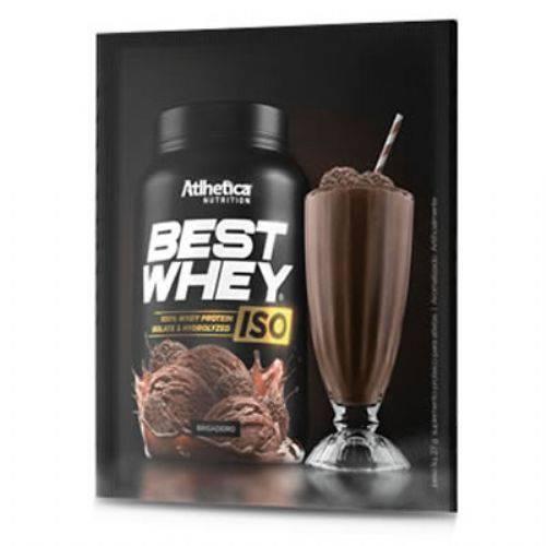 Best Whey Iso - 15 Sachês 27g Brigadeiro - Atlhetica Nutrition
