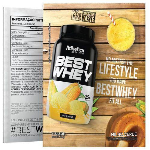 Best Whey - Milho Verde - 1 Sachê 35g Dose Única - Atlhetica Nutrition