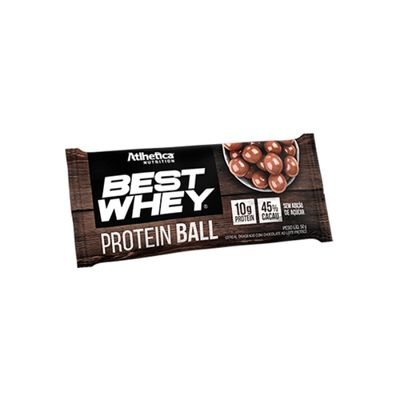 Best Whey Protein Ball 50g - Atlhetica Nutrition Best Whey Protein Ball 50g Chocolate ao Leite - Atlhetica Nutrition