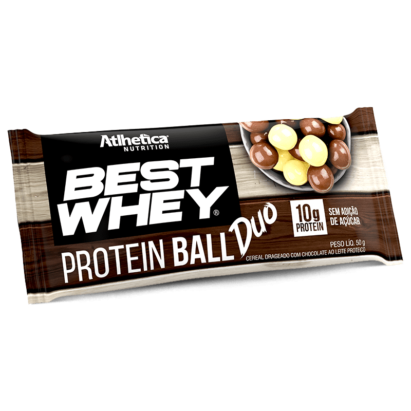 Best Whey Protein Ball (Unidade-50g) Atlhetica Nutrition-Chocolate ao Leite