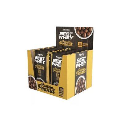 Best Whey Protein Peanut Caixa 12x50g Atlhetica Nutrition