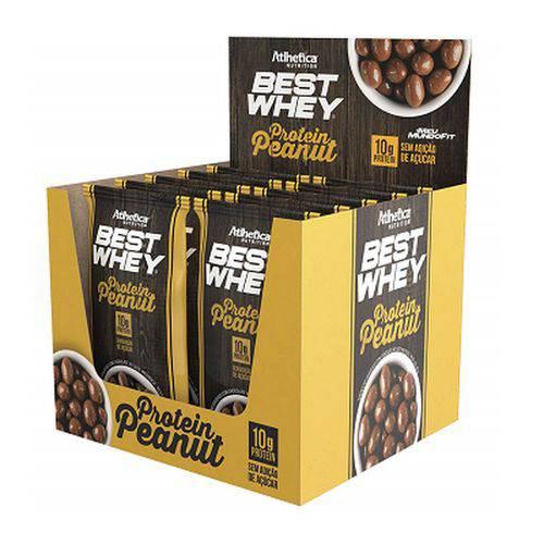 Best Whey Protein Peanut (cx C/ 12 Sachês) - Atlhetica