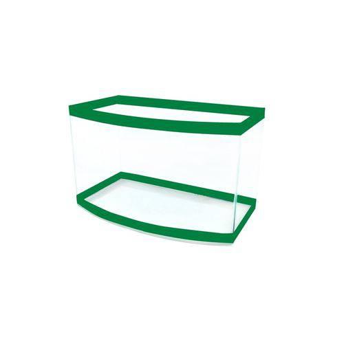 Beteira Curva Media Simples Verde