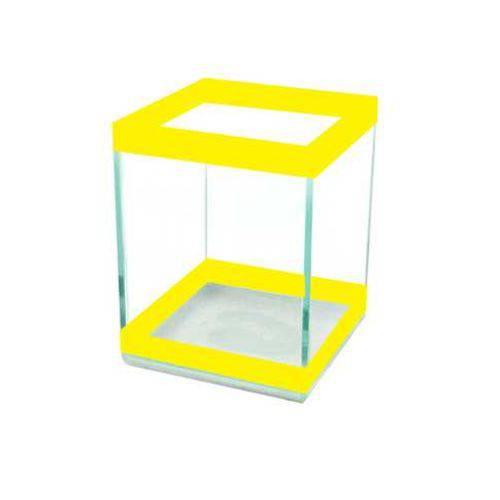 Beteira Quadrada Pequena Simples Amarela