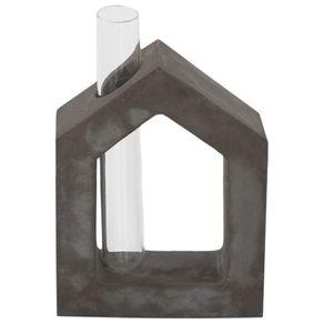Beton Frame Vaso House 16 Cm Konkret/incolor
