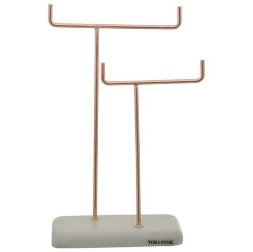 Beton Lines Porta-joias Konkret/cobre