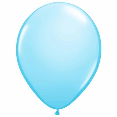Bexiga São Roque Imperial N°7 Azul Baby - 50 Unidades 1000394