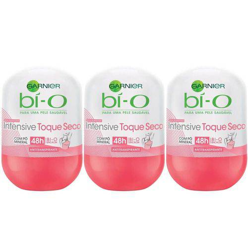 Bì-o Intensive Desodorante Rollon Feminino 50ml (kit C/03)