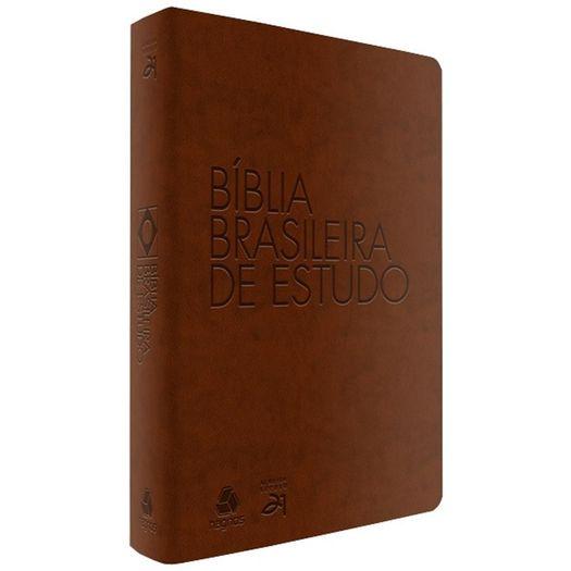 Biblia Brasileira de Estudo - Capa Marrom - Hagnos
