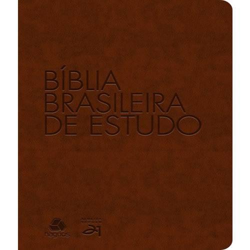 Biblia Brasileira de Estudo - Capa Marrom