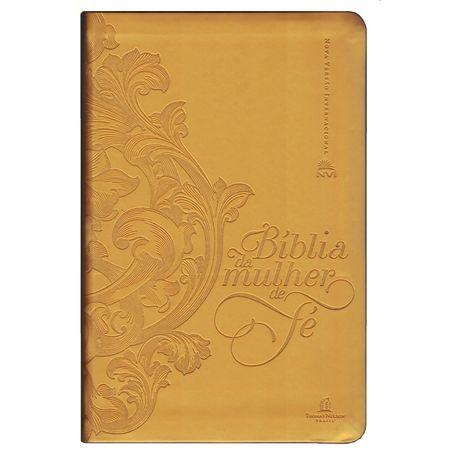 Bíblia da Mulher de Fé Dourada