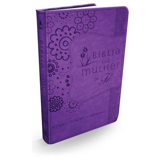 Biblia da Mulher de Fe - Roxa - Thomas Nelson