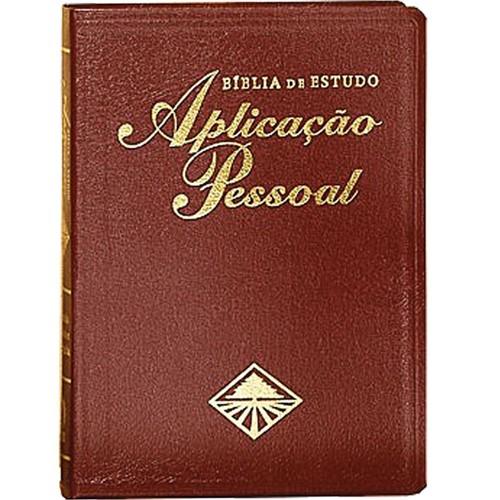 Bíblia de Estudo Aplicação Pessoal Grande - Vinho