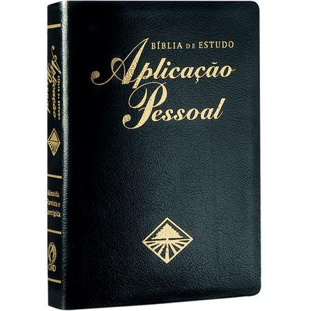 Bíblia de Estudo Aplicação Pessoal Preta