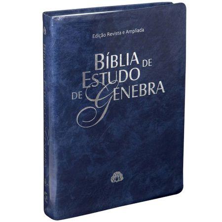 Bíblia de Estudo de Genebra Azul