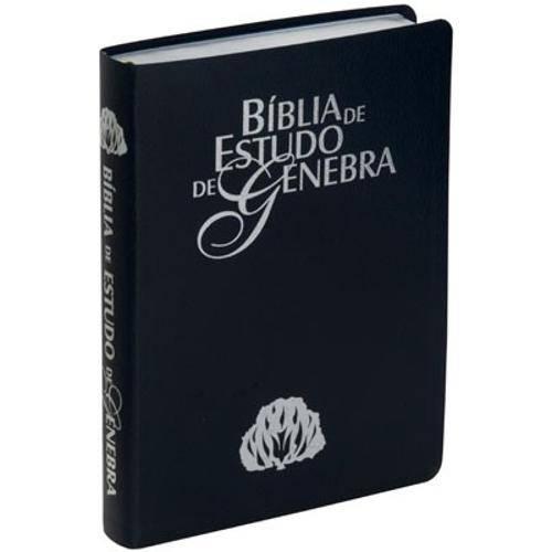 Bíblia de Estudo de Genebra - (Preta)