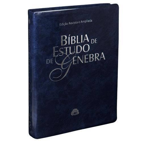 Bíblia de Estudo de Genebra - Ra - Azul