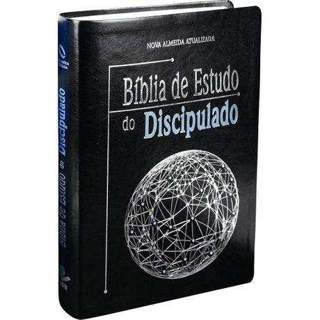 Bíblia de Estudo do Discipulado Preta