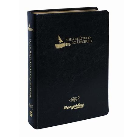 Bíblia de Estudo do Discípulo Preta