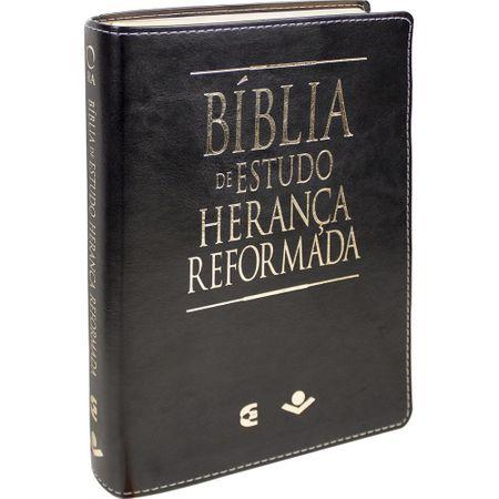 Bíblia de Estudo Herança Reformada Preta