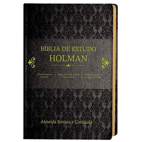 Bíblia de Estudo Holman Preta