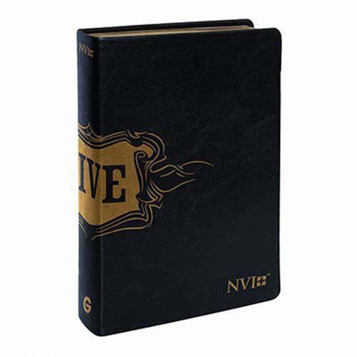 Bíblia de Estudo Live Média Nvi - Luxo Preta