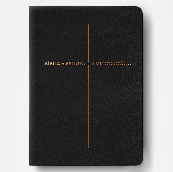Bíblia de Estudo NVT (Preta)