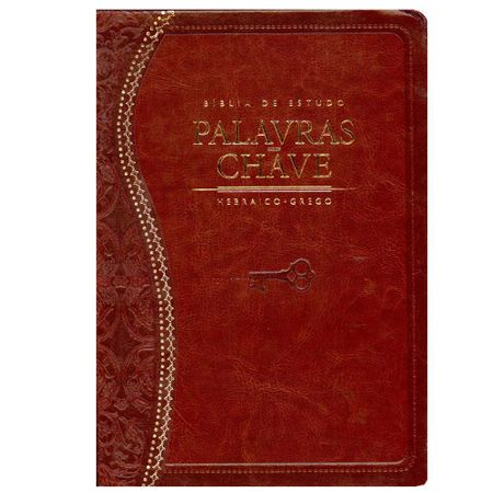 Bíblia de Estudo Palavra Chave Marrom