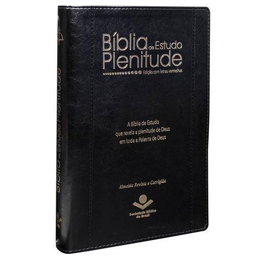 Bíblia de Estudo Plenitude - Rc - Preta