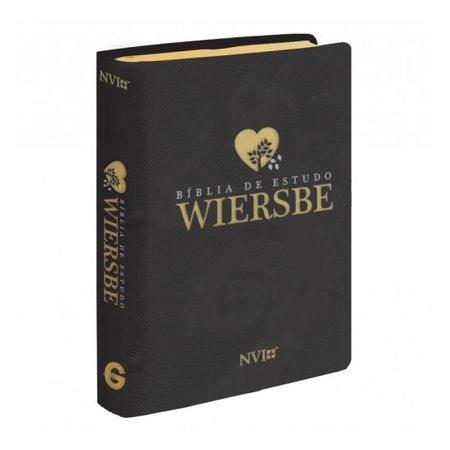 Bíblia de Estudo Wiersbe Capa Luxo