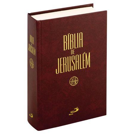 Bíblia de Jerusalém Capa Dura
