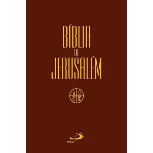 Biblia de Jerusalem - Media Cristal - Paulus