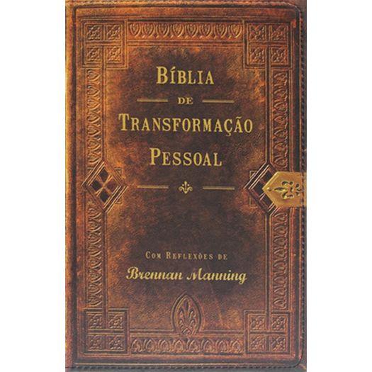 Biblia de Transformacao Pessoal - Edicao Luxo - Mundo Cristao