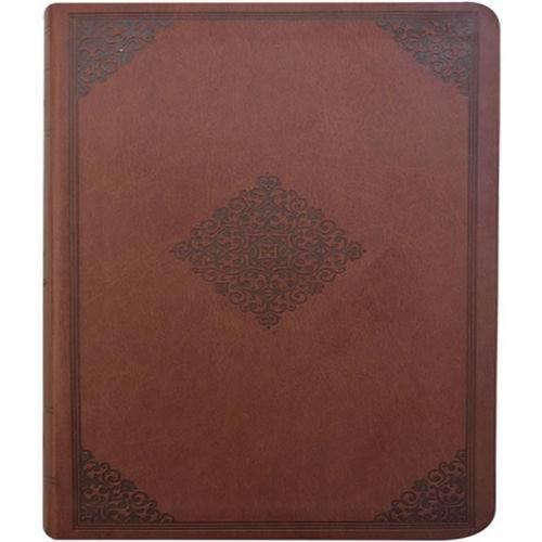 Biblia do Pescador - Borda Dourada - Capa Marrom - Nvi