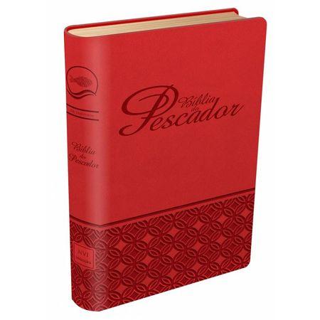 Bíblia do Pescador NVI Vermelho
