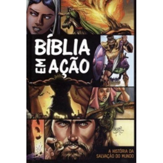 Biblia em Acao - Estampa Unica - Capa Dura - Geografica