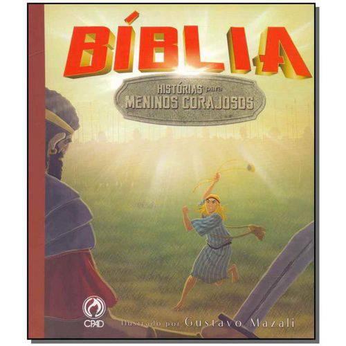 Bíblia - História para Meninos Corajosos