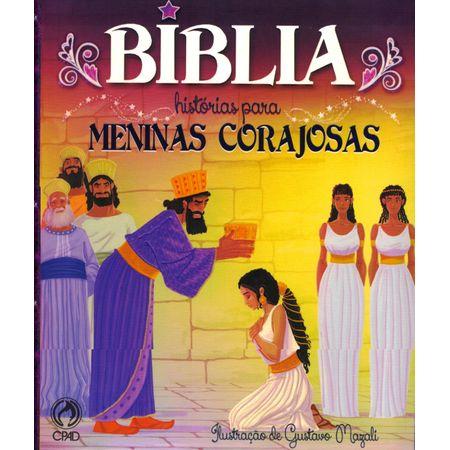 Bíblia Histórias para Meninas Corajosas