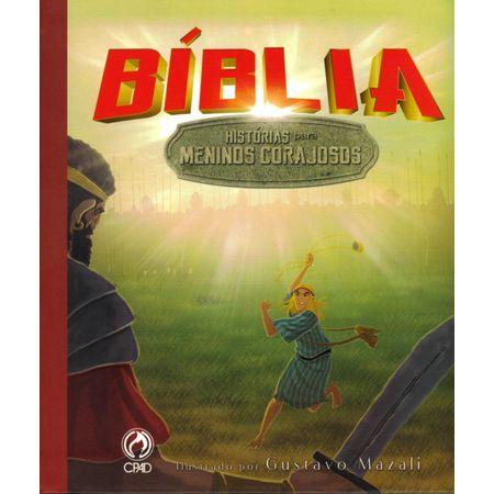 Bíblia Histórias para Meninos Corajosos