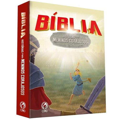 Bíblia - Histórias para Meninos Corajosos