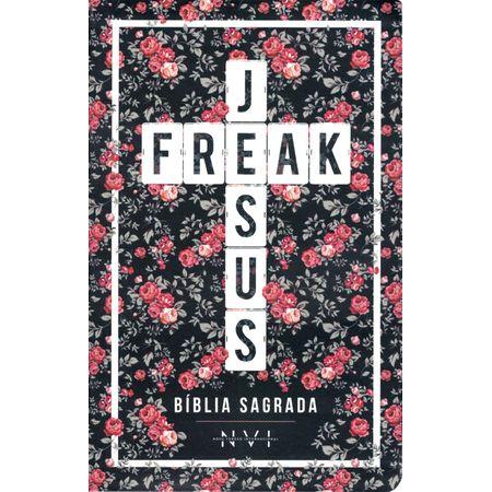 Bíblia Jesus Freak NVI Luxo Floral