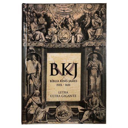 Bíblia King James Fiel Capa Dura - Ultra Gigante