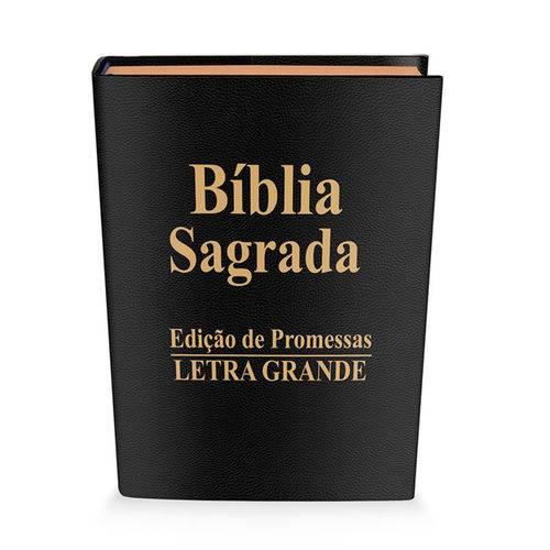 Biblia Letra Grande Luxo Preta
