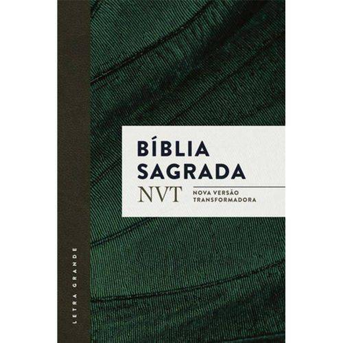 Bíblia Nvt - Verde - Letra Grande - Brochura