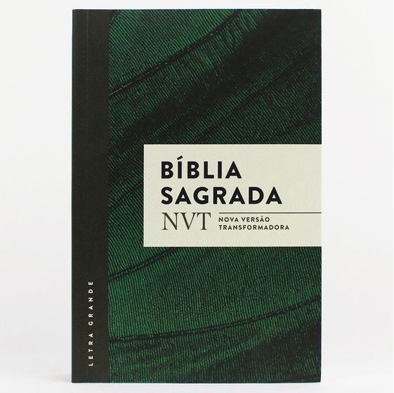 Bíblia NVT (Verde) - Letra Grande