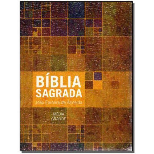 Biblia Sag. Media-grande C/ N.t. Luxo N.estampada